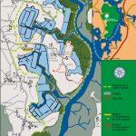 Plan de la Réserve Naturelle Nationale du Marais de Séné