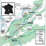 Plan de la Réserve Naturelle Nationale de la Vallée de Chaudefour