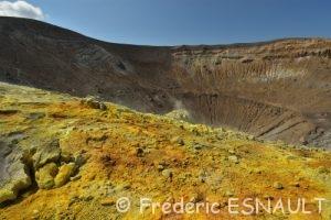 Le volcan Gran Cratere de La Fossa
